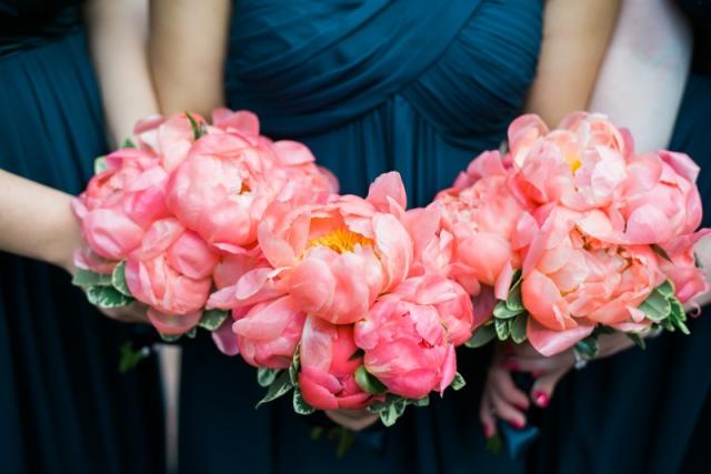 peony bridal flowers