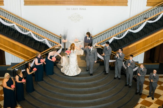 Indiana bridal party pictures