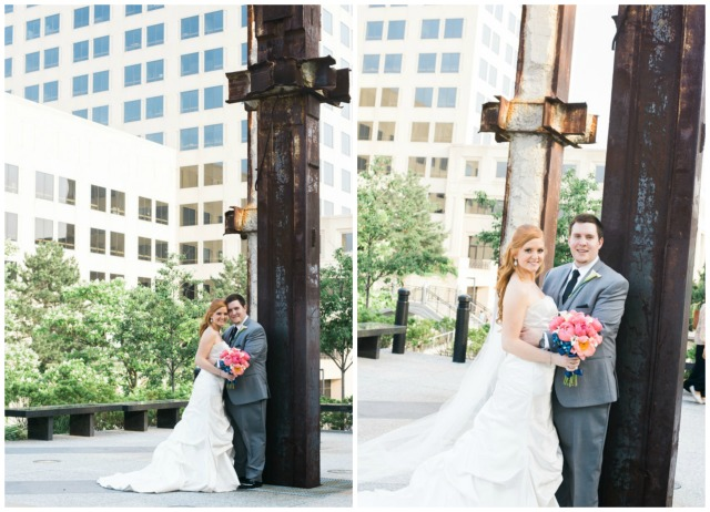 Indianapolis canal walk wedding pictures